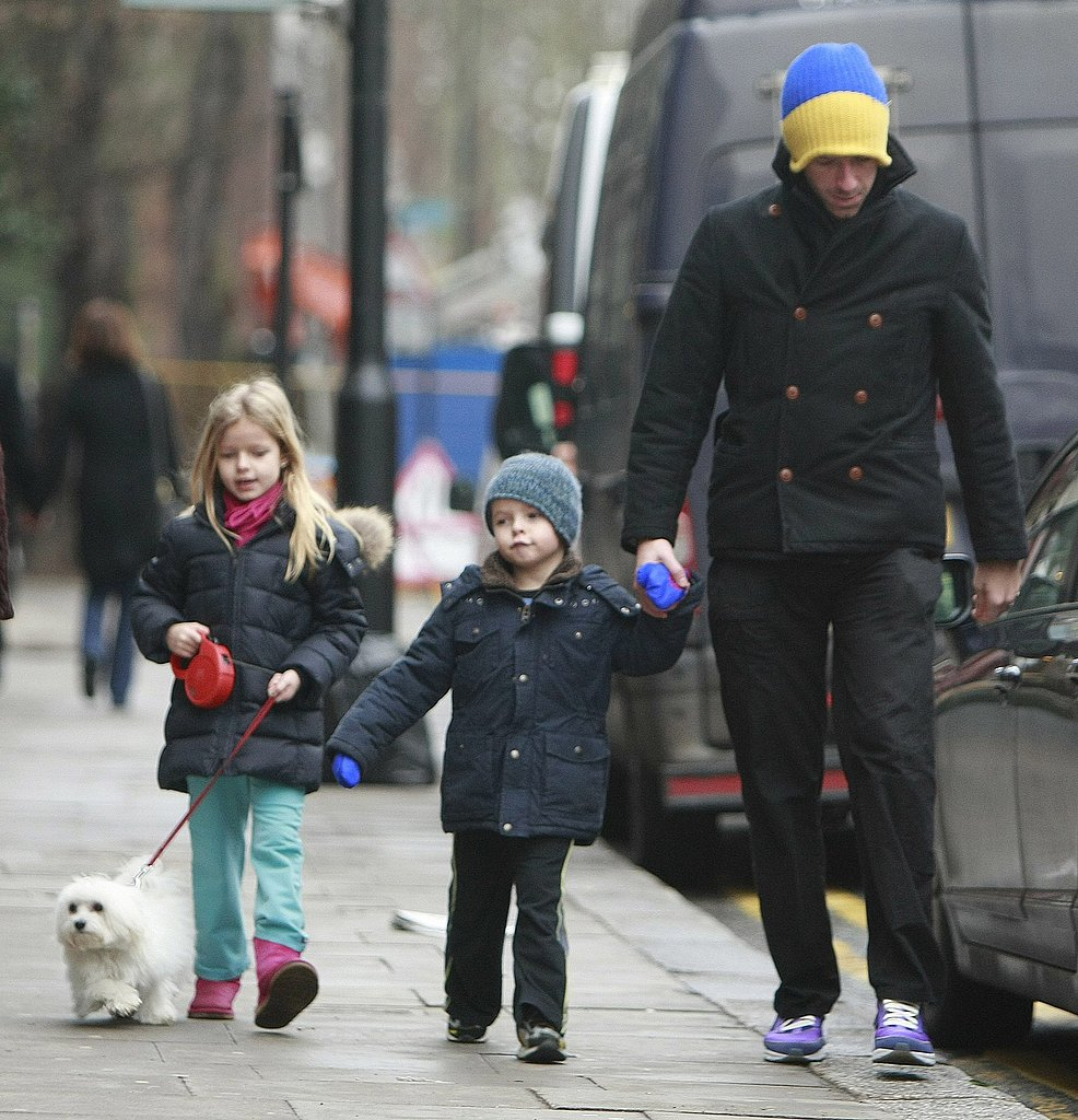 Photo of Chris Martin & his  Dog
