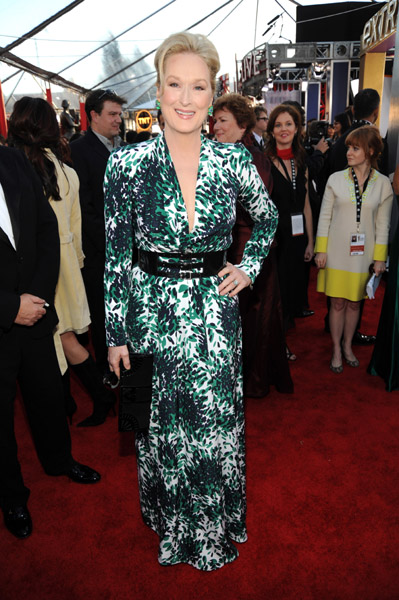 Meryl Streep was one of my favourites in 2010 — colour-injected and totally chic.
