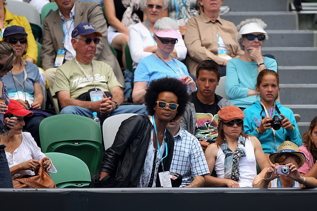 Stars Take in Games, Sets and Matches at the Australian Open