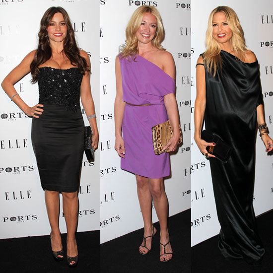 Pictures of Rachel Zoe, Cat Deeley, and Sofia Vergara at Elle Women in Television Dinner