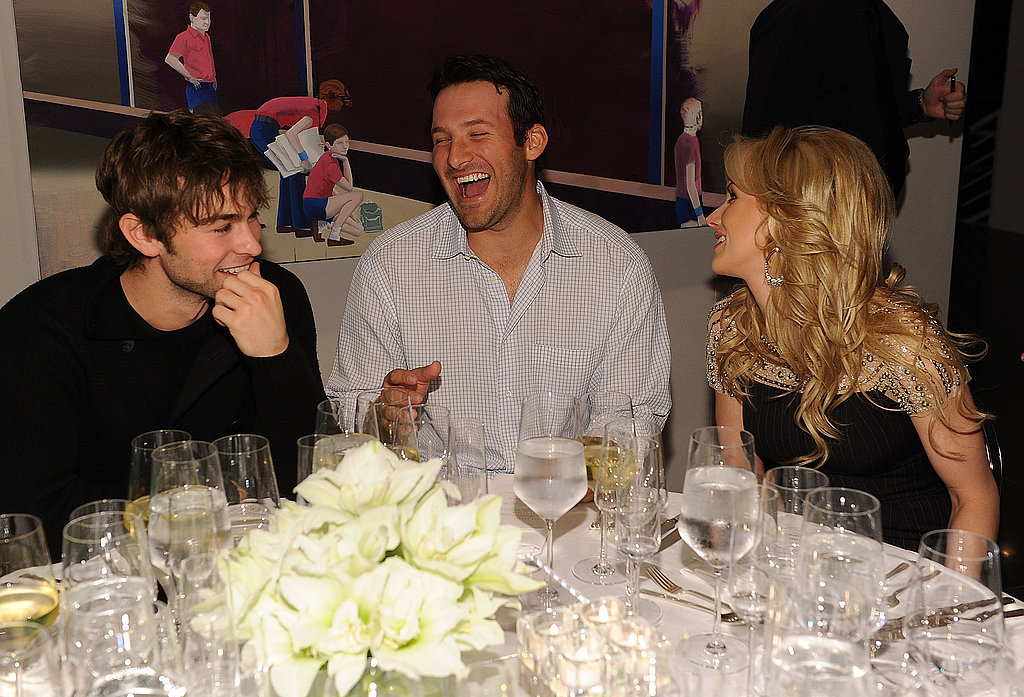 Chace Crawford, Tony Romo, Candice Crawford