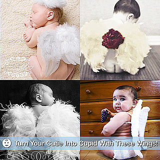 Cupid Angel Wings For Baby on Valentine's Day