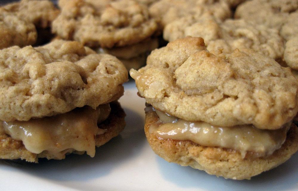 Peanut Butter Oatmeal Sandwich Cookie Recipe | POPSUGAR ...