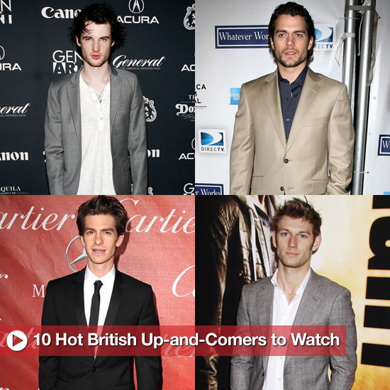 Hot British Actors, Including Andrew Garfield, Henry Cavill, Tom Hardy, and More