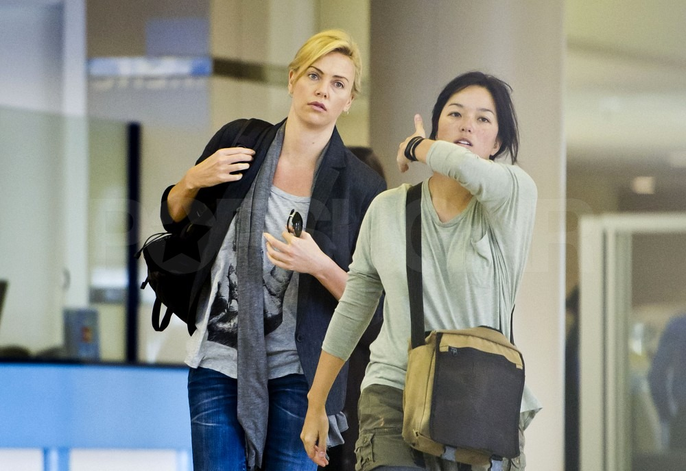 Charlize Theron Shares a Love of Chucks and Another Twilight Connection With Future Costar Kristen Stewart