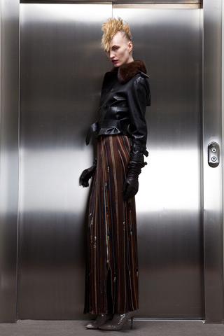 Photos of Jean Paul Gaultier Pre-Fall Collection Lookbook