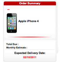 Verizon iPhone 4 Preorder