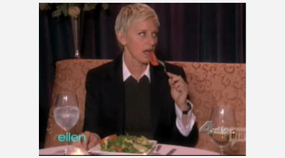 Ellen Caught in the Middle of a Real Housewives Cat Fight!