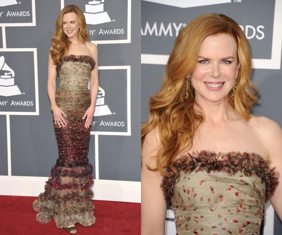 Nicole Kidman Grammys 2011 2011-02-13 17:53:51