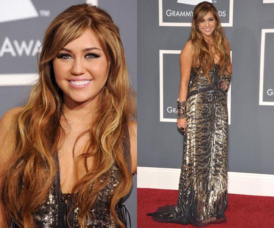 Miley Cyrus Grammys 2011 2011-02-13 17:48:29