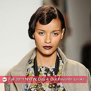 The Best Beauty Looks From Day Four of Fall 2011 New York Fashion Week 2011-02-13 23:19:31