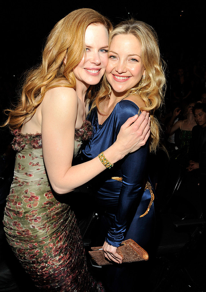 Gwyneth Goes Tight, Katy Shares Wedding Footage, and Kate Hudson Gets a Kiss at the Grammys!