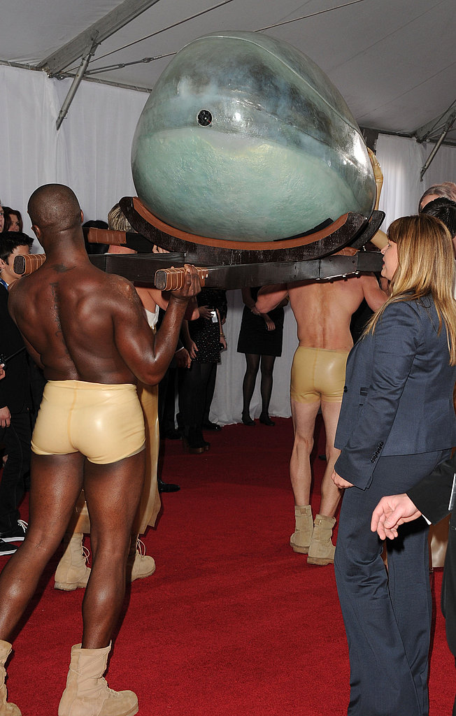 See More Pics of Lady Gaga's Womb Entrance at the Grammys