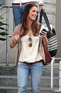 Pictures of Minka Kelly Leaving Chelsea Lately in LA