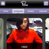Pose Social Shopping iPhone and Android App