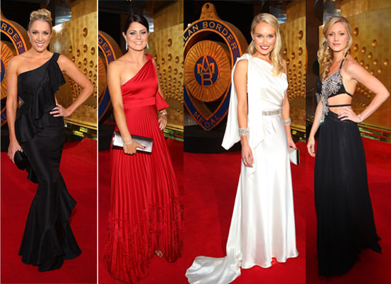 Pictures from the 2011 Allan Border Medal red carpet, including Lee Furlong, Shane Watson, Rhinna Ponting