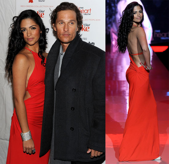 Pictures of Camila Alves, Julianne Hough, Denise Richards, and Audrina Patridge at the Heart Truth's Red Dress Event