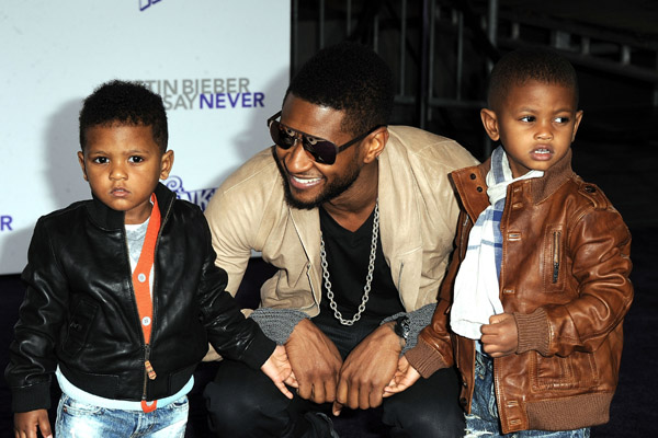 Usher and His Boys