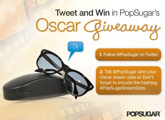 PopSugar Dream Date Giveaway of Victoria Beckham Sunglasses
