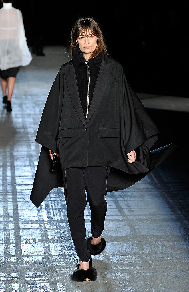 Alexander Wang Brings Back His Signature Black for Fall 2011