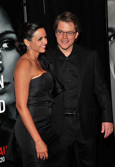 Pictures of Matt Damon and Emily Blunt at the Premiere of The Adjustment Bureau
