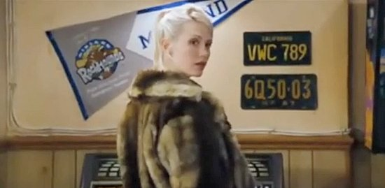 January Jones in Love Actually Bar Scene Video