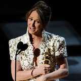 Melissa Leo Talks Oscar Campaign and Her F-Bomb in the Oscar Press Room 2011-02-27 18:40:09