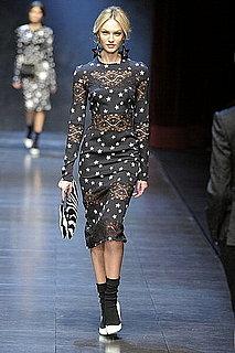 Fall 2011 Milan Fashion Week: Dolce & Gabbana 2011-02-28 14:01:04