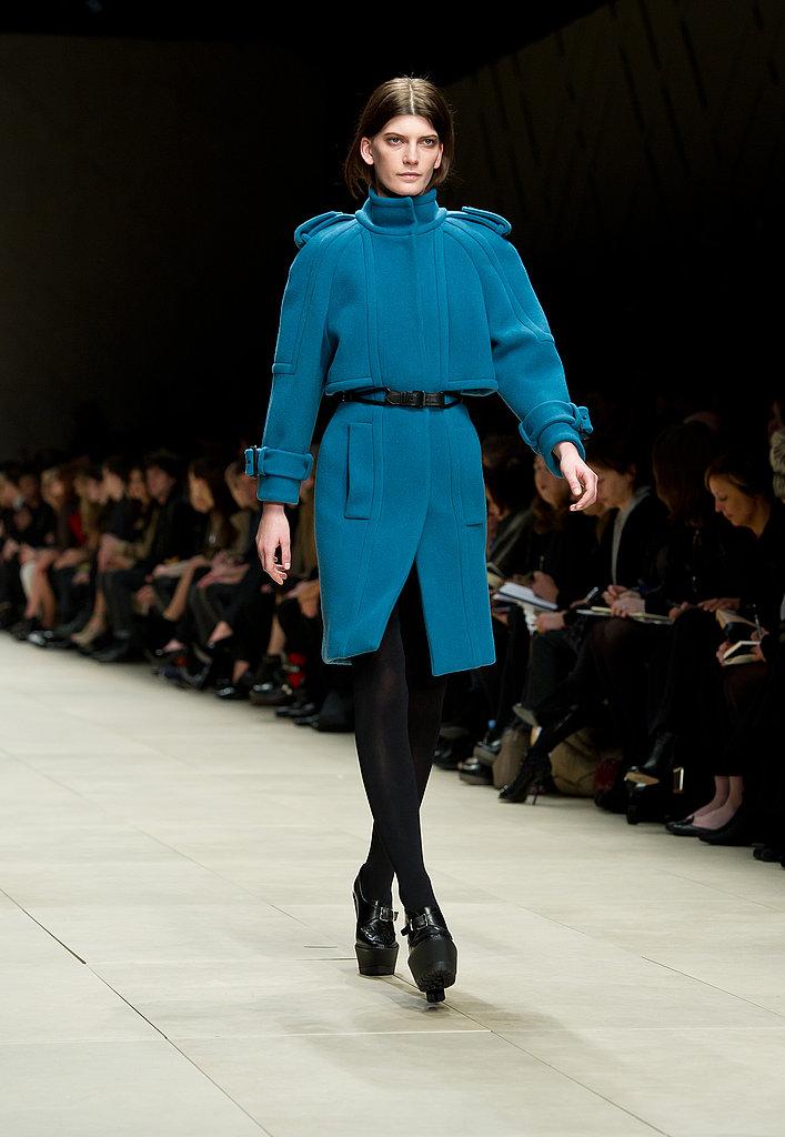2011 Autumn London Fashion Week: Burberry Prorsum