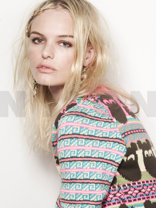 Kate Bosworth Bares Her Bellybutton For New Nylon Cover