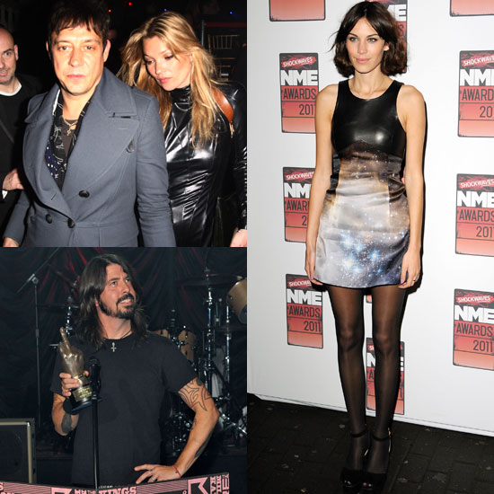 Pictures from the 2011 NME Awards Including Kate Moss, Jamie Hince, Alexa Chung, Dave Grohl, Juliette Lewis,