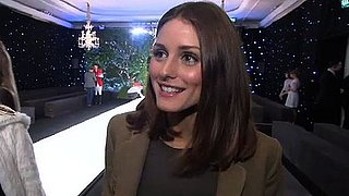 Olivia Palermo Interview at London Fashion Week Fall 2011