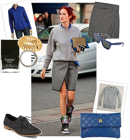 Taylor Tomasi Hill Fall 2011 Fashion Week Street Style