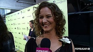 Video of Melissa Leo Before the Oscars