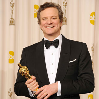 The King's Speech Oscar Winner Colin Firth Talks About the Royal Wedding in the Oscar Press Room