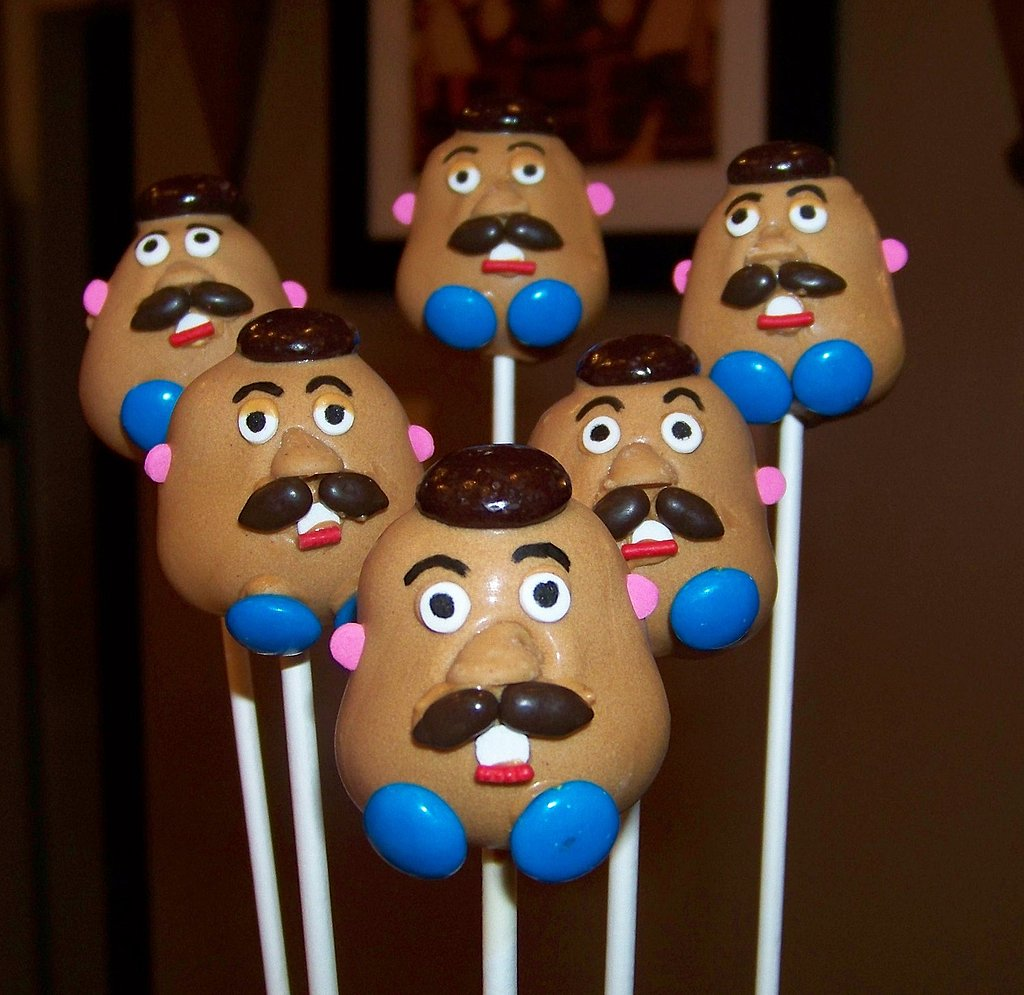 Toy Story Mr Potato Head Cake Pops 15 Cute Made To