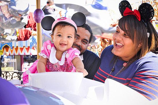 Olivia's Disneyland Photo Shoot
