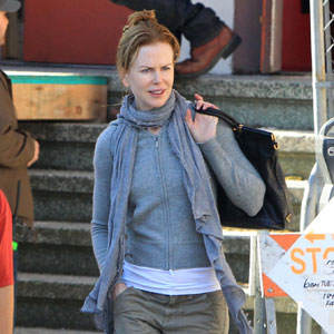 Pictures of Nicole Kidman Filming Hemingway and Gellhorn in San Francisco