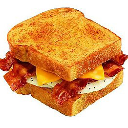 Review of Dunkin' Donuts New Big 'N Toasty Breakfast Sandwich