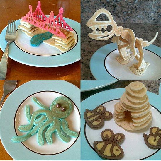 Beautiful Pancake Shapes For Kids