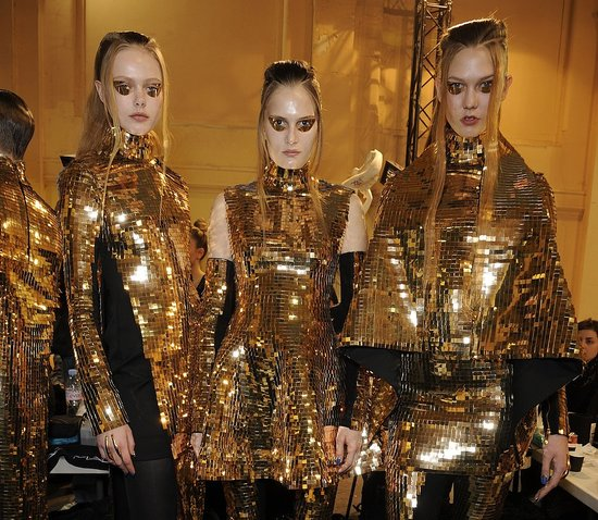 Fall 2011 Paris Fashion Week Backstage Photos from Dries van Noten, Gareth Pugh, and Rochas