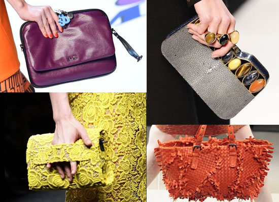 Handbags From Fall 2011 Milan Fashion Week including Dolce & Gabbana, Blumarine and Fendi