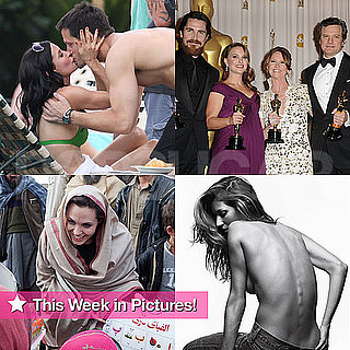 Courteney Cox in a Bikini, Angelina Jolie Abroad, Topless Gisele Bundchen, and More in This Week in Pictures!