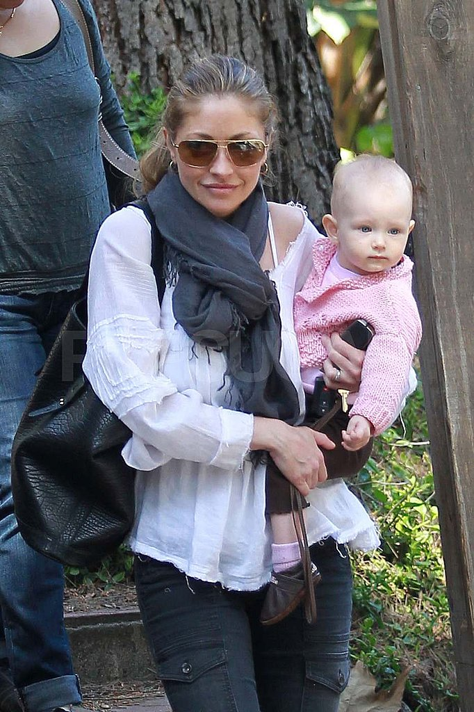 Rebecca Gayheart Hits the Town With Her Adorable One-Year-Old Billie