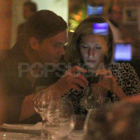 Pictures of Tom Brady and Gisele Bundchen on a Date in Brazil