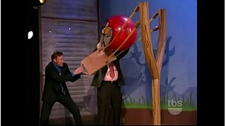 Conan O'Brien Plays Life-Size Angry Birds