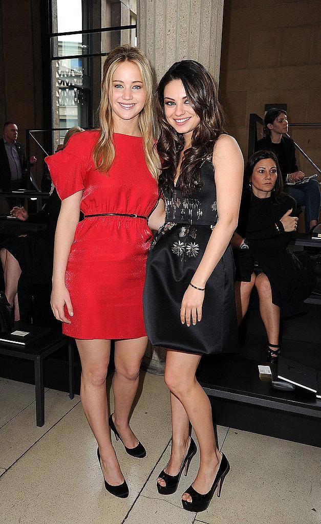 Jennifer Lawrence and Mila Kunis