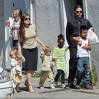 Angelina Jolie and Brad Pitt With Their Six Kids