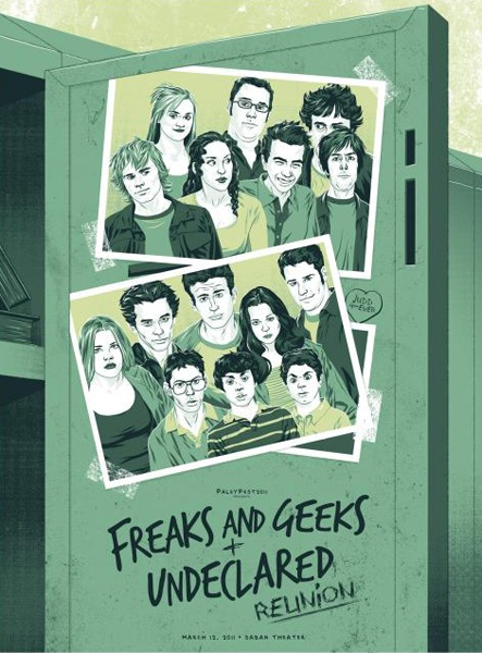 Freaks and Geeks and Undeclared Reunion
