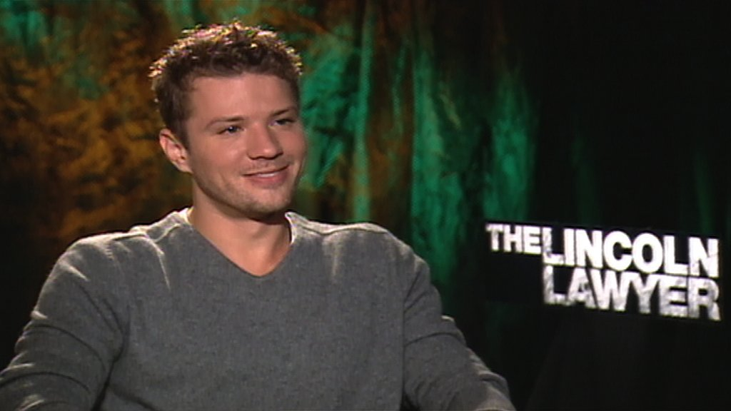 Video Interview With The Lincoln Lawyer's Ryan Phillippe Talking His Kids, Playing a Villain and More